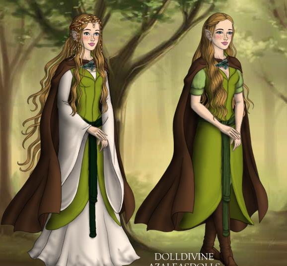 Der Hobbit - Elbenkostüm - Entwurf